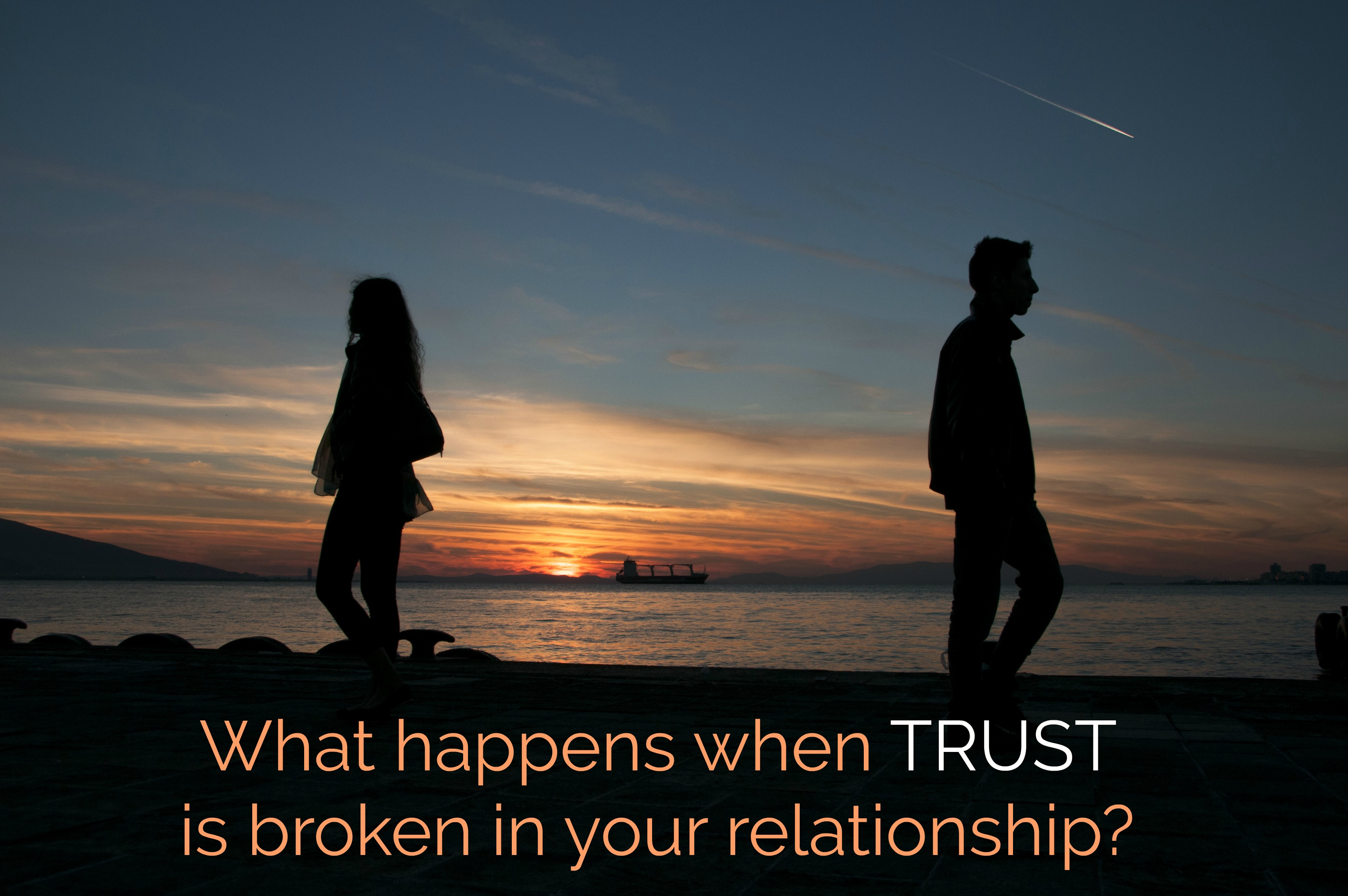 Fixing trust in a relationship